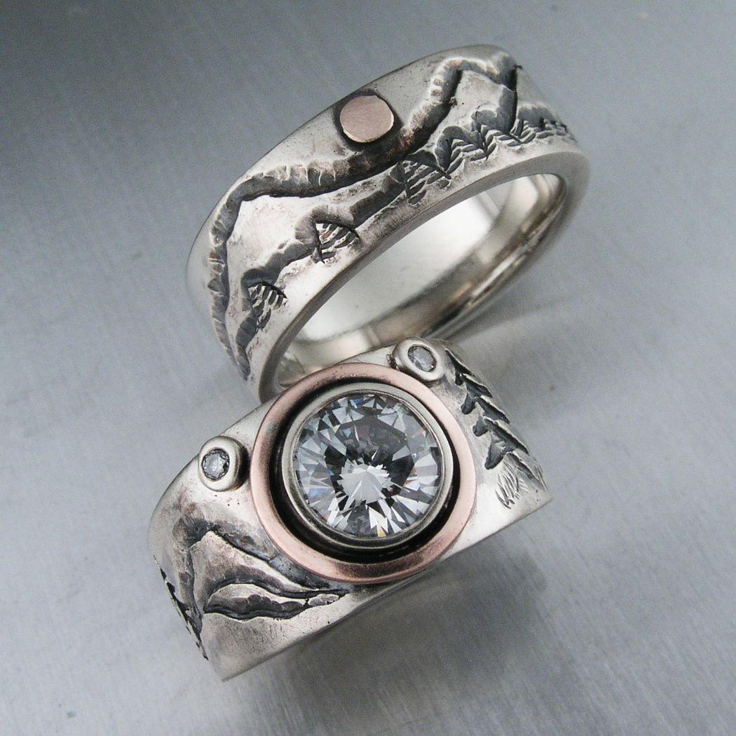Nature Inspired Designs Douglas Jewelry Design ring Pinterest