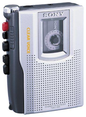 Sony TCM-150 Enregistreur de Cassette Argent | Your #1 Source for Mobile Phones, MP3 Players & Accessories