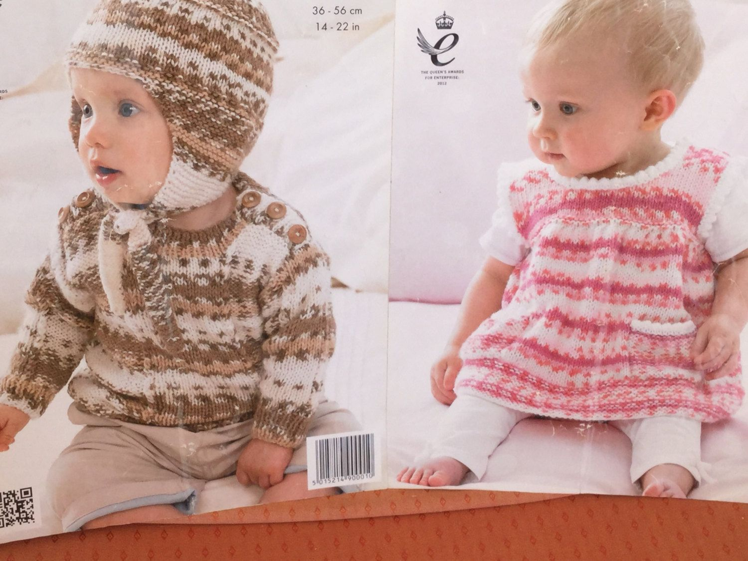 UK/EU SELLER Baby/Toddlers dress & Sweater with hat and earflaps pdf ...