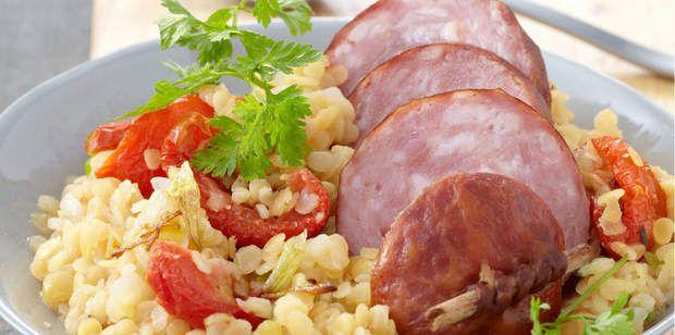 Franche-Comté : la saucisse de morteauLa recette à voir ici