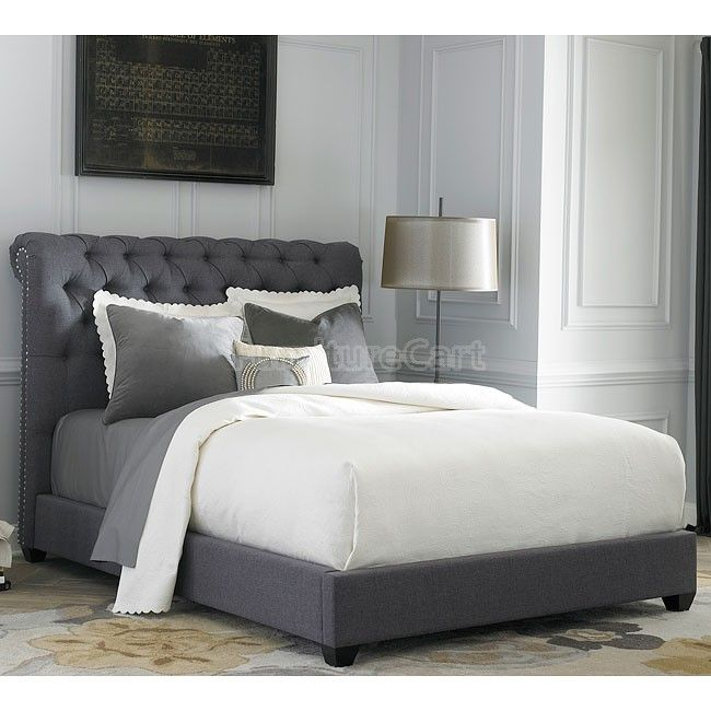Galleria Furniture Oklahoma City: 250 Chesterfield Upholstered Bed In 2019
