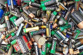 Ingenieria Ambiental Contaminacion Pilas Y Baterias Reciclaje Reciclar Pilas