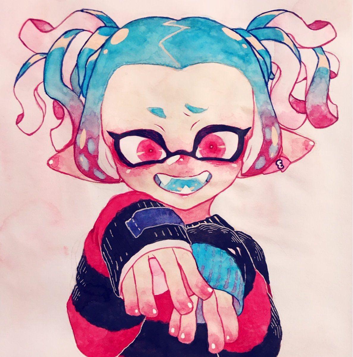 Splatoon, Cute Drawings, Manga