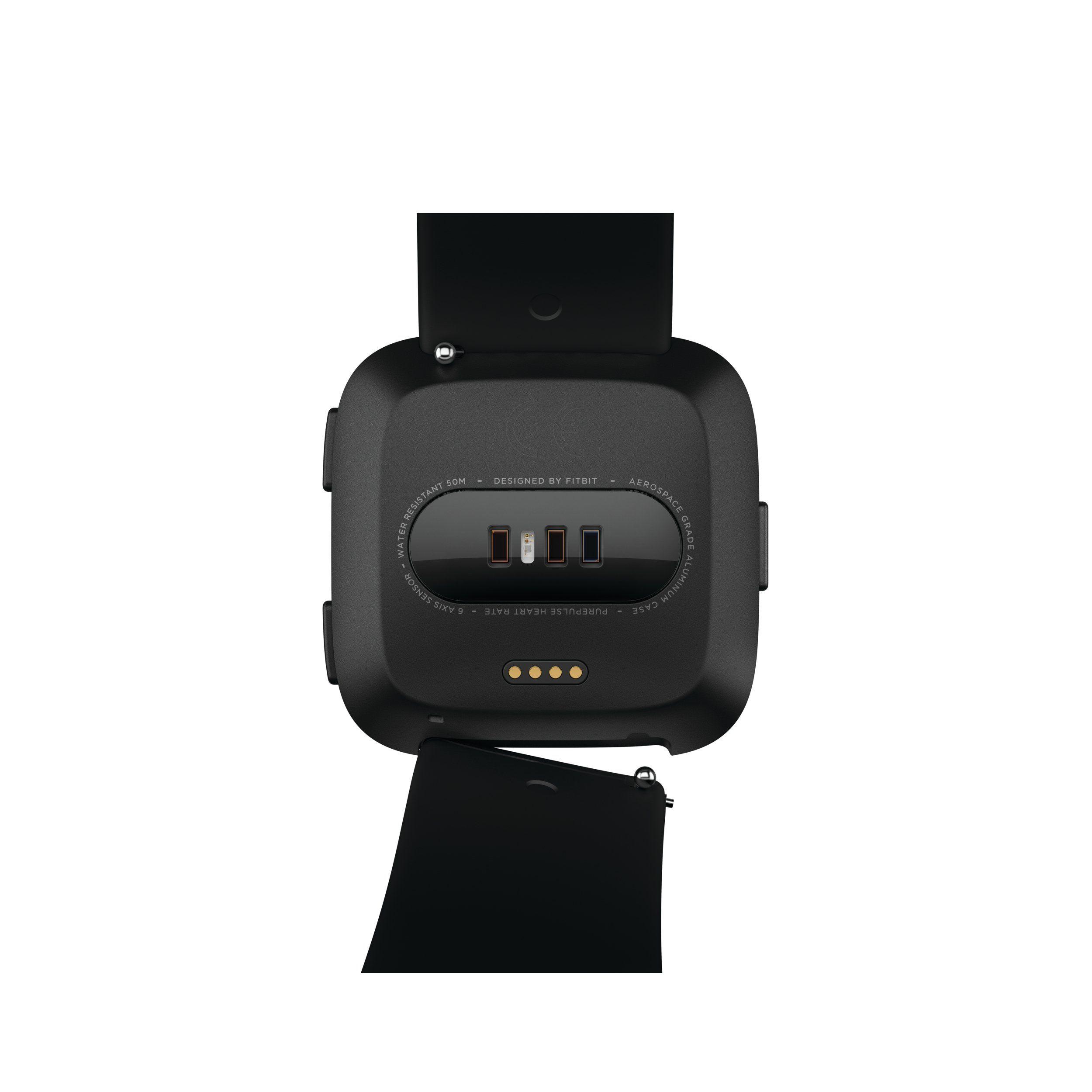 Fitbit versa classic accessory band black small 010 pound