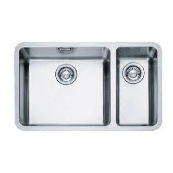 Franke Kubus Kbx 160 45 20 Undermount Stainless Steel Sink R Hand