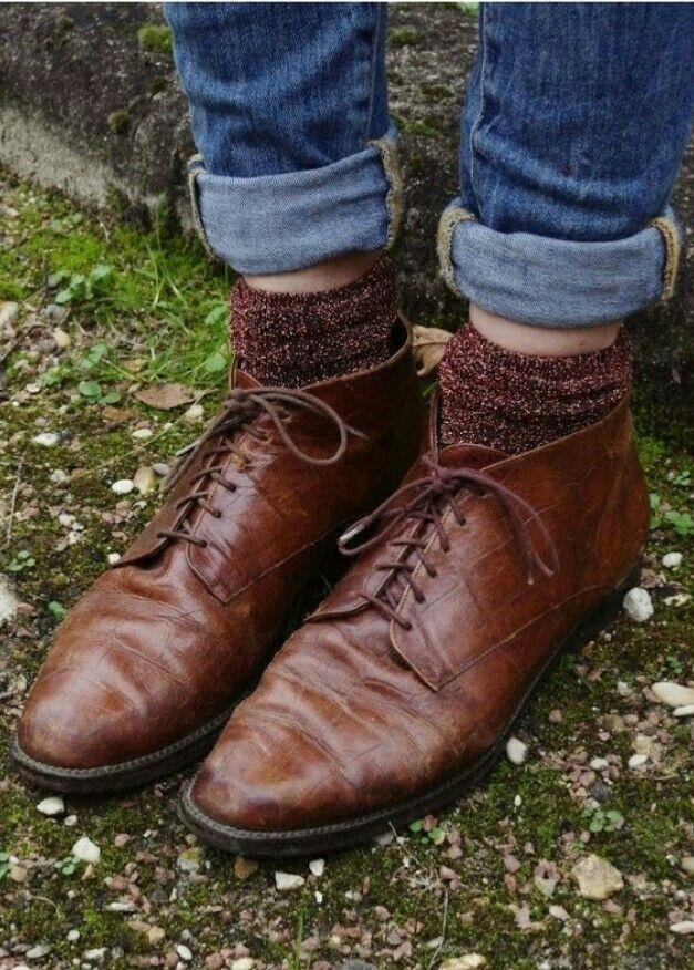 Zapatos+calcetin= <3