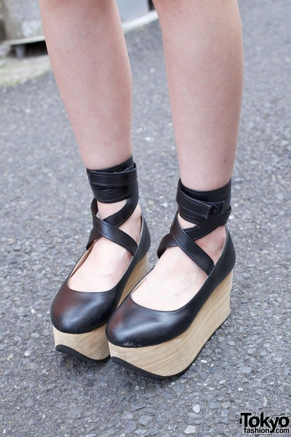 b3250fd269a0a Bodyline Rocking Horse Shoes in Harajuku | Shoes | Shoes, Shoe boots ...