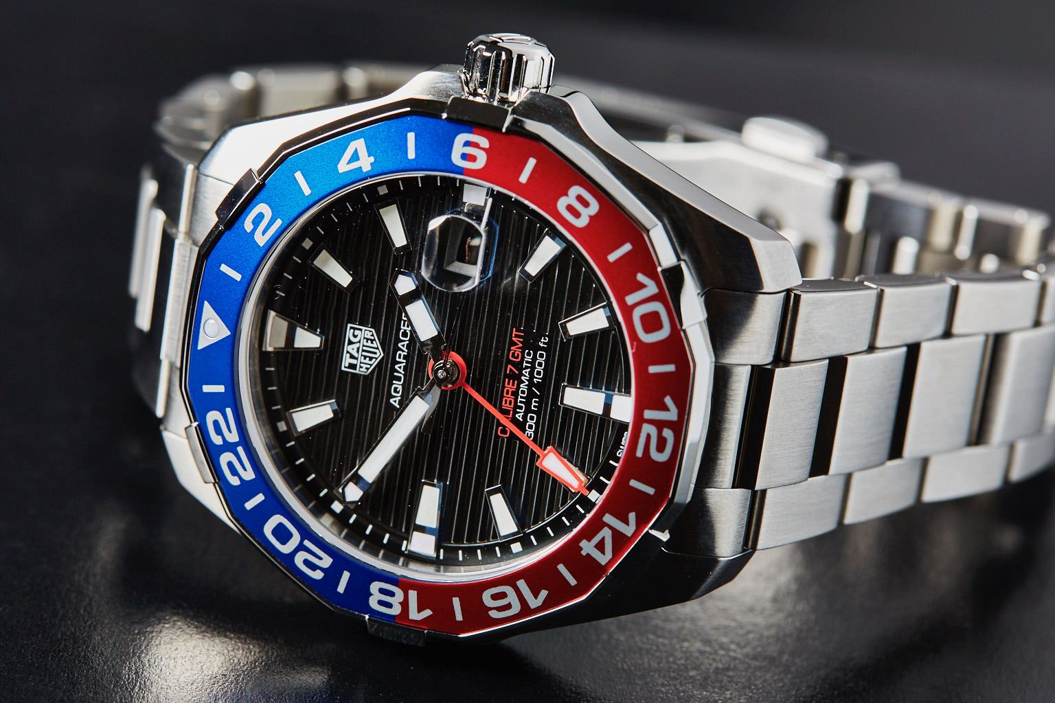 6c89d642489 2017 TAG Heuer Aquaracer 300m GMT Pepsi Want something a little cheaper   Here are 8