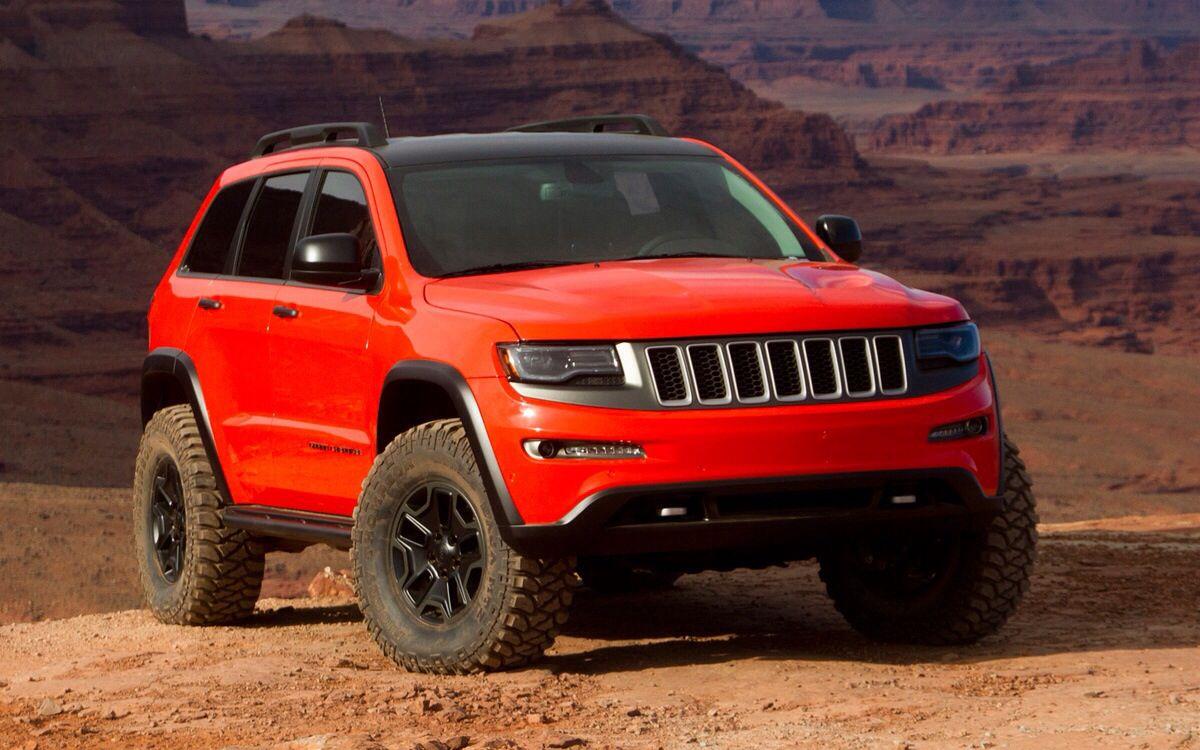 Jeep Grand Cherokee Trailhawk Ii Concept Jeep Grand Cherokee Jeep Jeep Grand