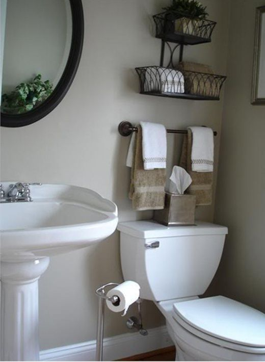 Charmant Bathroom Storage Ideas   Re Organize Your Towels And Toiletries During Your  Next Round Of Spring Cleaning. Check Out Some Of The Best Small Bathroom  Storage ...
