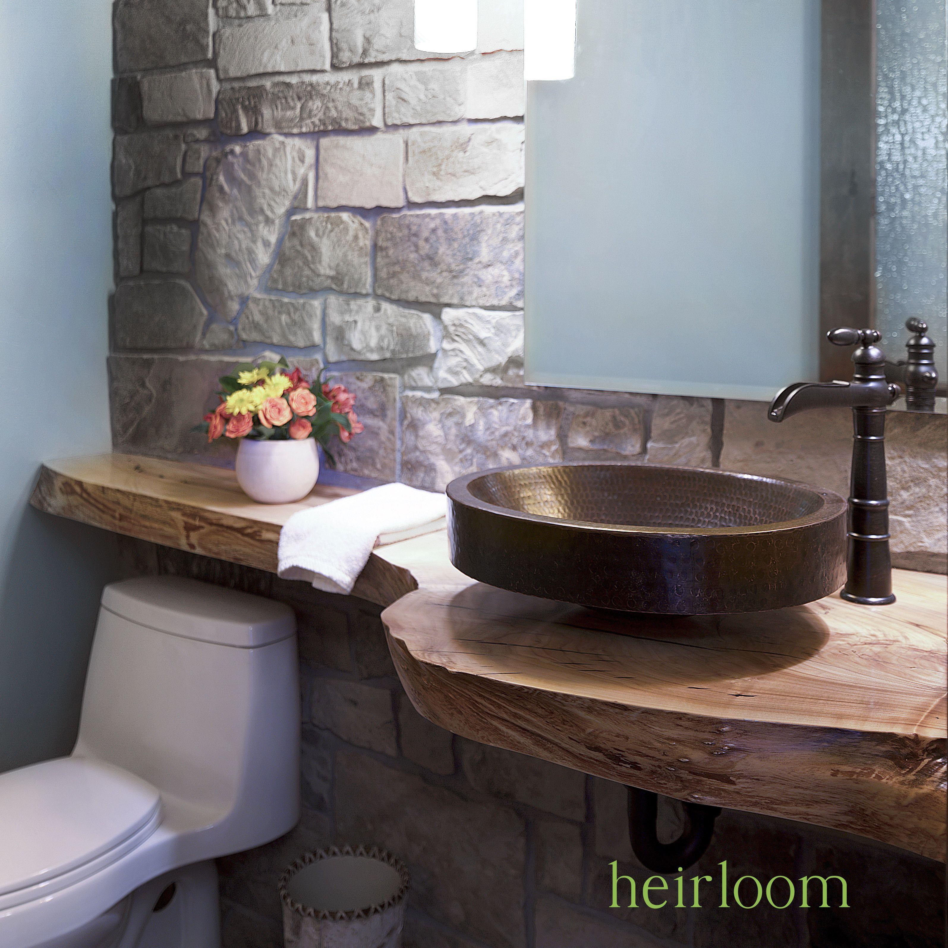Guest Bath Quot Banjo Quot Vanity Top From Reclaimed Urban Wood