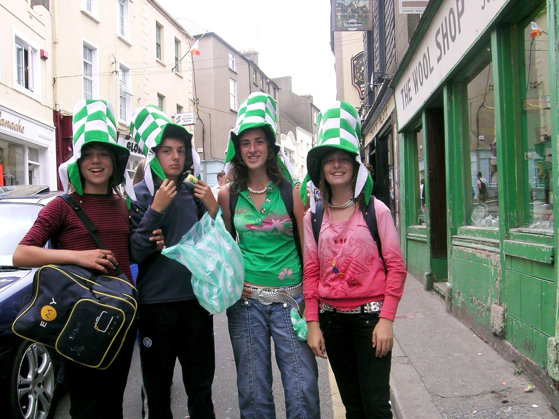 EMY Cursos en el extranjero en Irlanda. Dublín. 2006