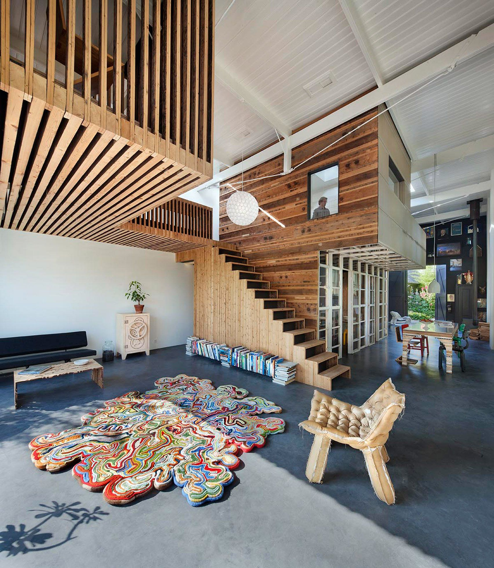 Rolf Bruggink Uses Salvaged Materials To Convert Coach House Into Home Part 96