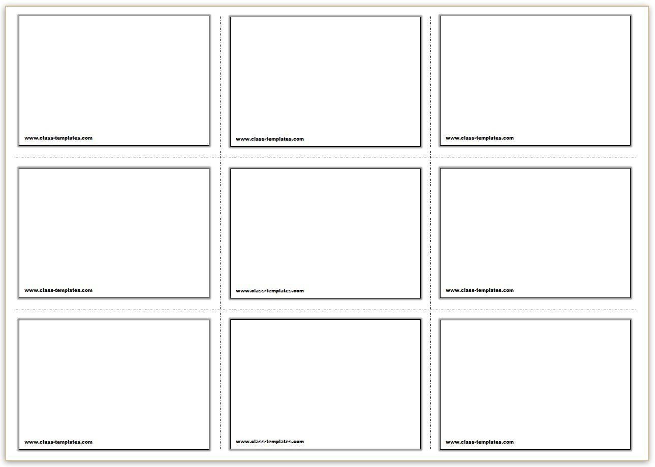 Note Card Template Free Free Printable Flash Cards Template Flash Card Template Printable Flash Cards Vocabulary Flash Cards