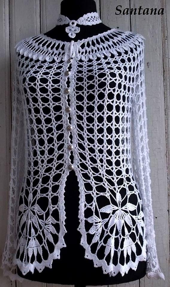 Lindo calado | Blusas | Pinterest | Lindo, Blusas de crochet y Blusas