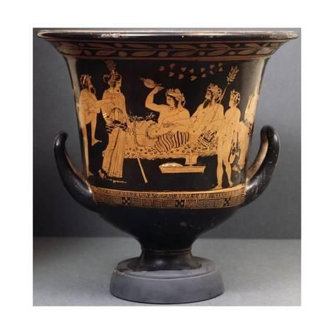 Giclee Print Symposium With Hephaestus And Dionysus Who Is