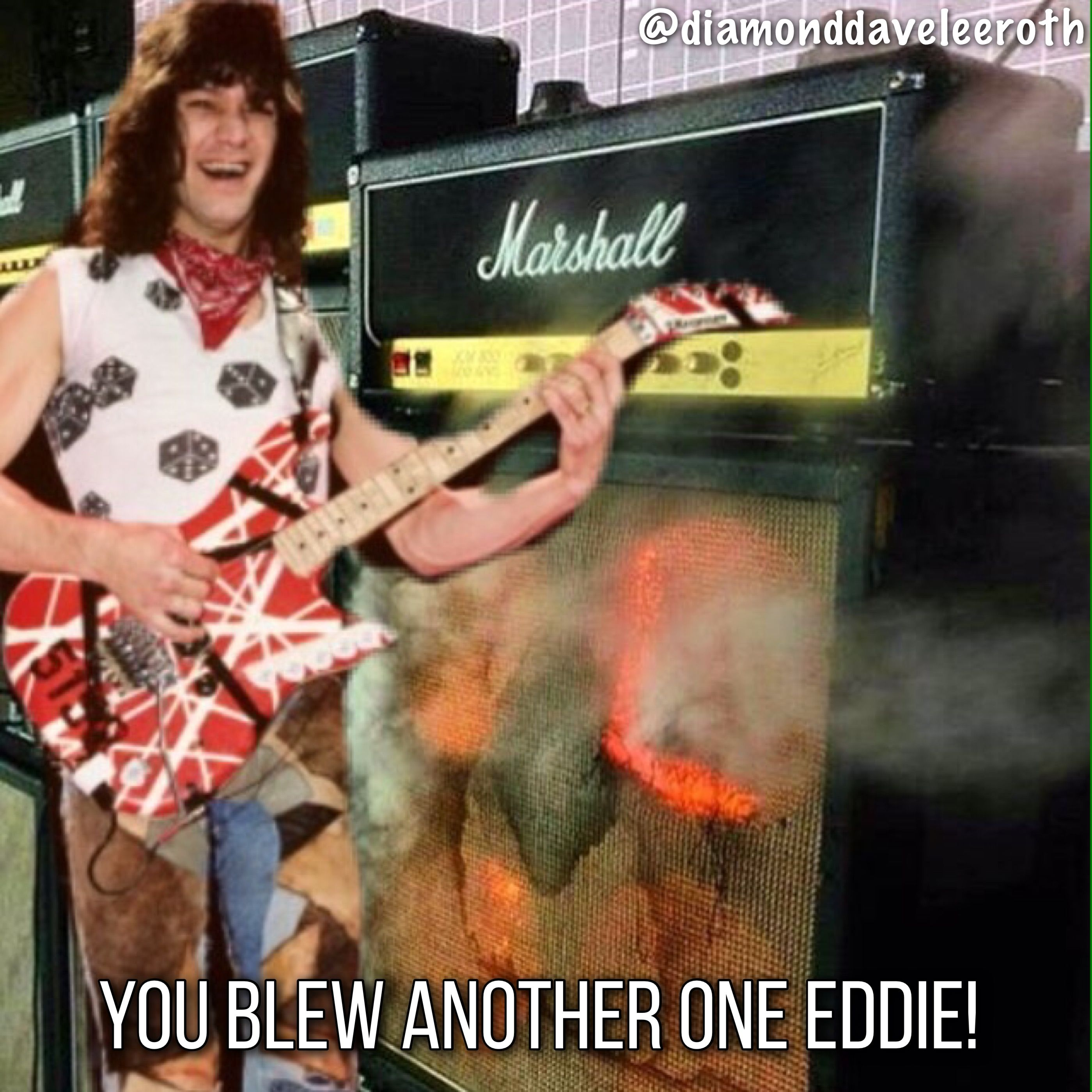 Eddie Van Halen Music Meme Van Halen With Dlr