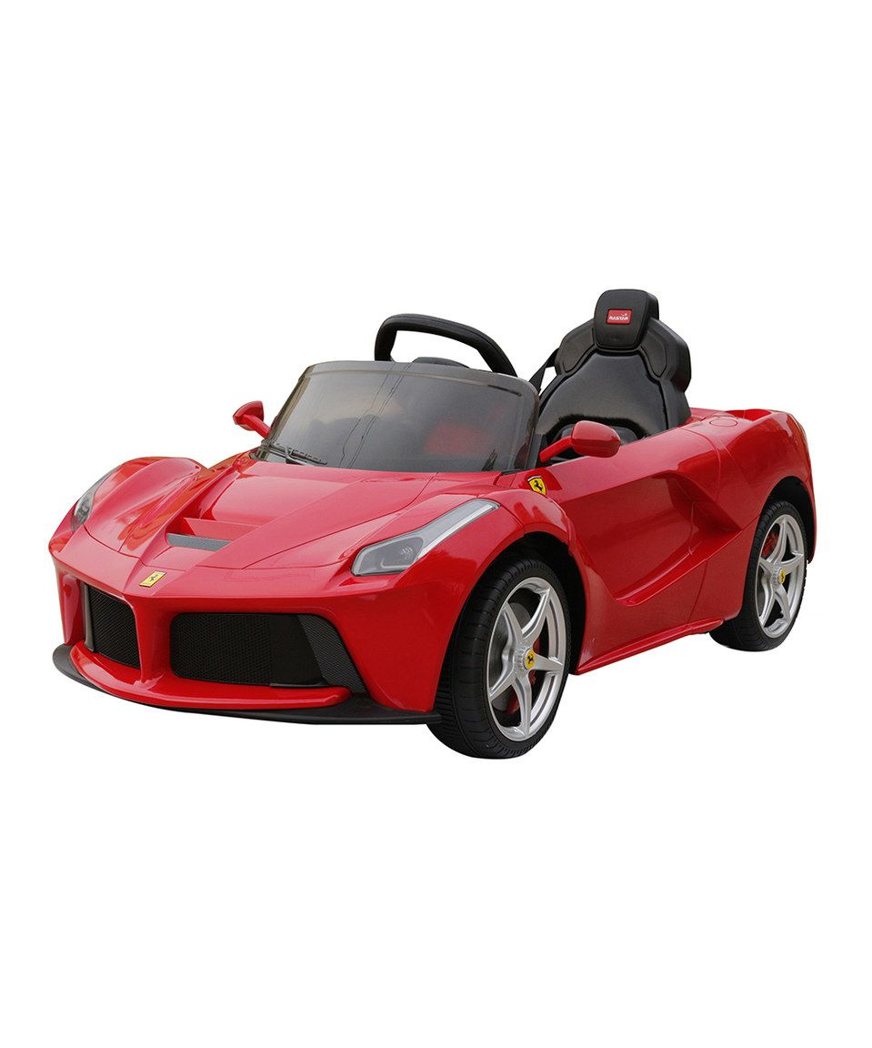 Look What I Found On #zulily! Red Ferrari LA 12V Ride-On
