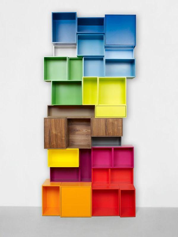 Außergewöhnlich Bücherregal Von Cubit® Im Puristischen Design: Modular Und Passend Für  Viele Formate. Viele Farben Sowie Schubladen, Türen Und Furniere  Unterstreichen Die ...