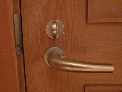 Universal Design Principle 6: Low Physical Effort. Door handles ...