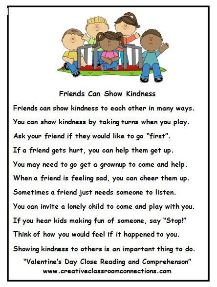 friendship story makes a great february activity. complete unit, Ideas