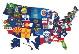 50 State Sets Discount Flags And Poles Quality For Less Since 1993 State Flags Flag Map