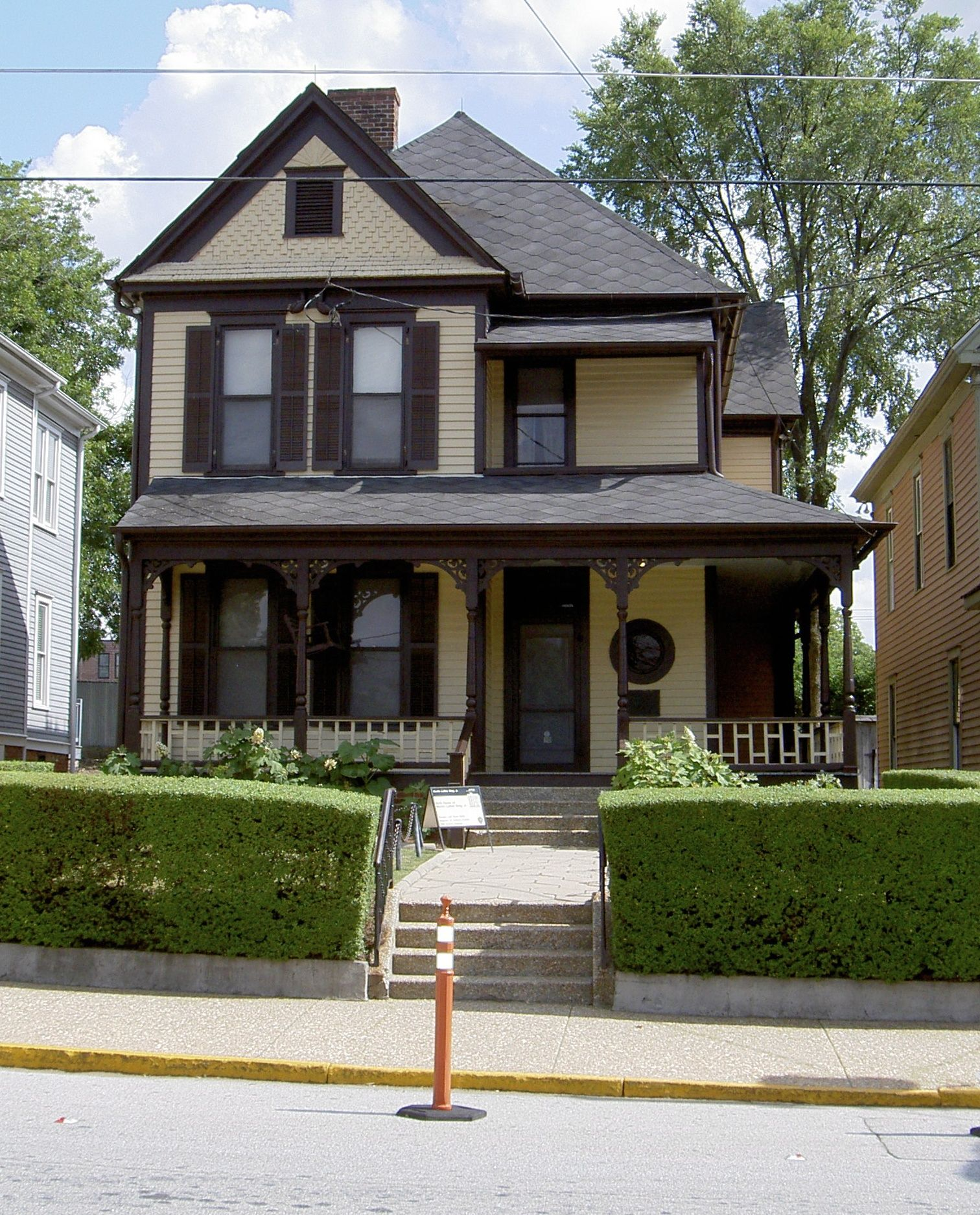 Sights Birth Home Of Martin Luther King Jr The Modest Queen Anne