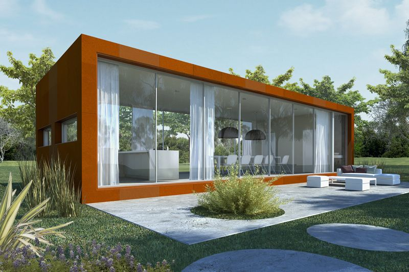 Ekoetxe casas prefabricadas for Casas prefabricadas modernas