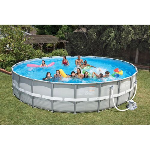 intex 26 x 52 ultra frame above ground swimming pool now