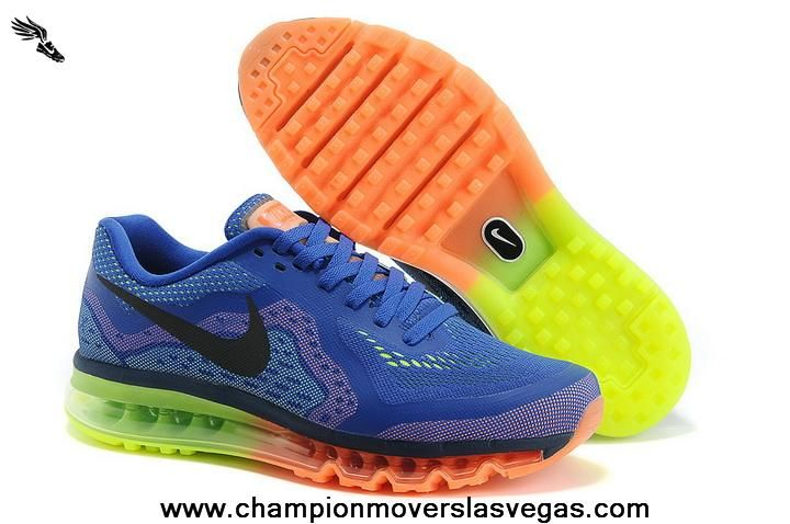 Buy Mesh Blue Black Green Orange Kids Shoes Nike Air Max 2014 Kids