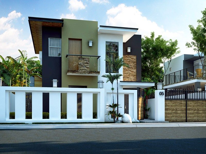 ester - four bedroom two story modern house design | pinoy eplans, Hause deko