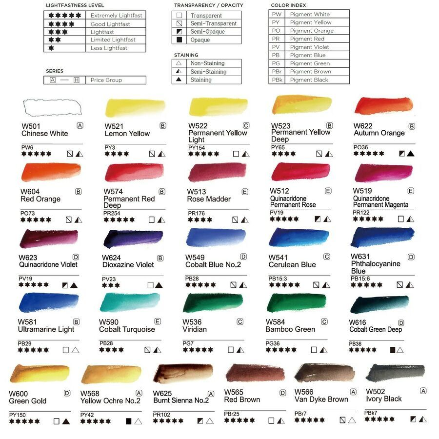 Mission Gold Class 26 Colors Of The Pure Pigment Set Mwc 1524p 15mlx24 2 Colors Colors Pure Mission Color Set Pigment Coloring Pure Products