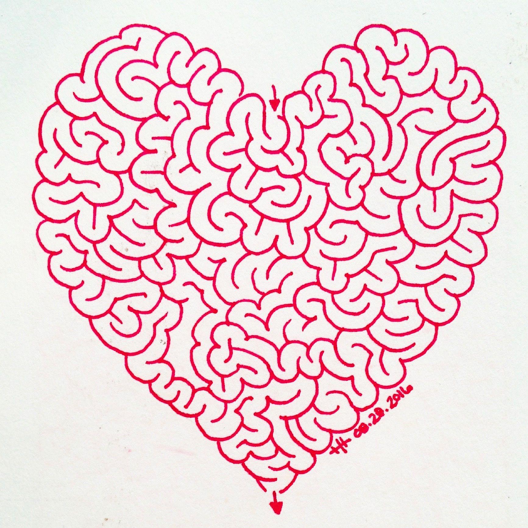 Lady Labyrinth Brain Maze Heather Hoesl