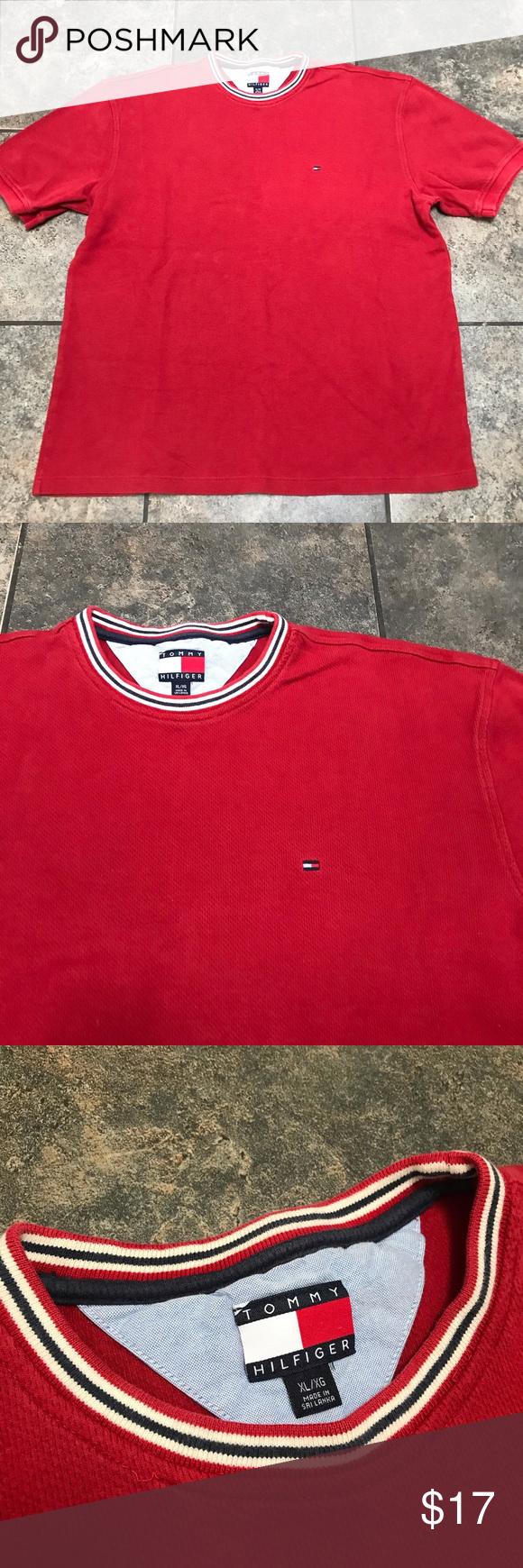 Tommy Hilfiger Men's Tee Shirt, Size XL