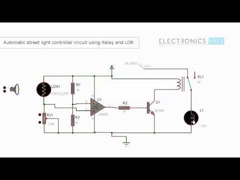 Automatic Street Lights Controller using Relays - http://www ...