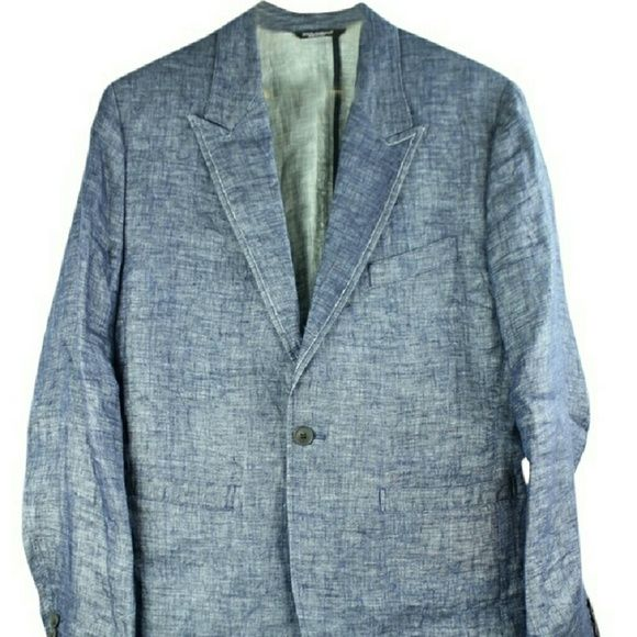 Dolce And Gabana Men's BlazerBG-#8818105 Dolce and Gabana Men's Blazer Size 50  Signs of wear: Wrinkles. Stitching.  Please see photos for more details. Dolce & Gabbana Jackets & Coats