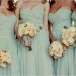love this color for bridesmaids dresses