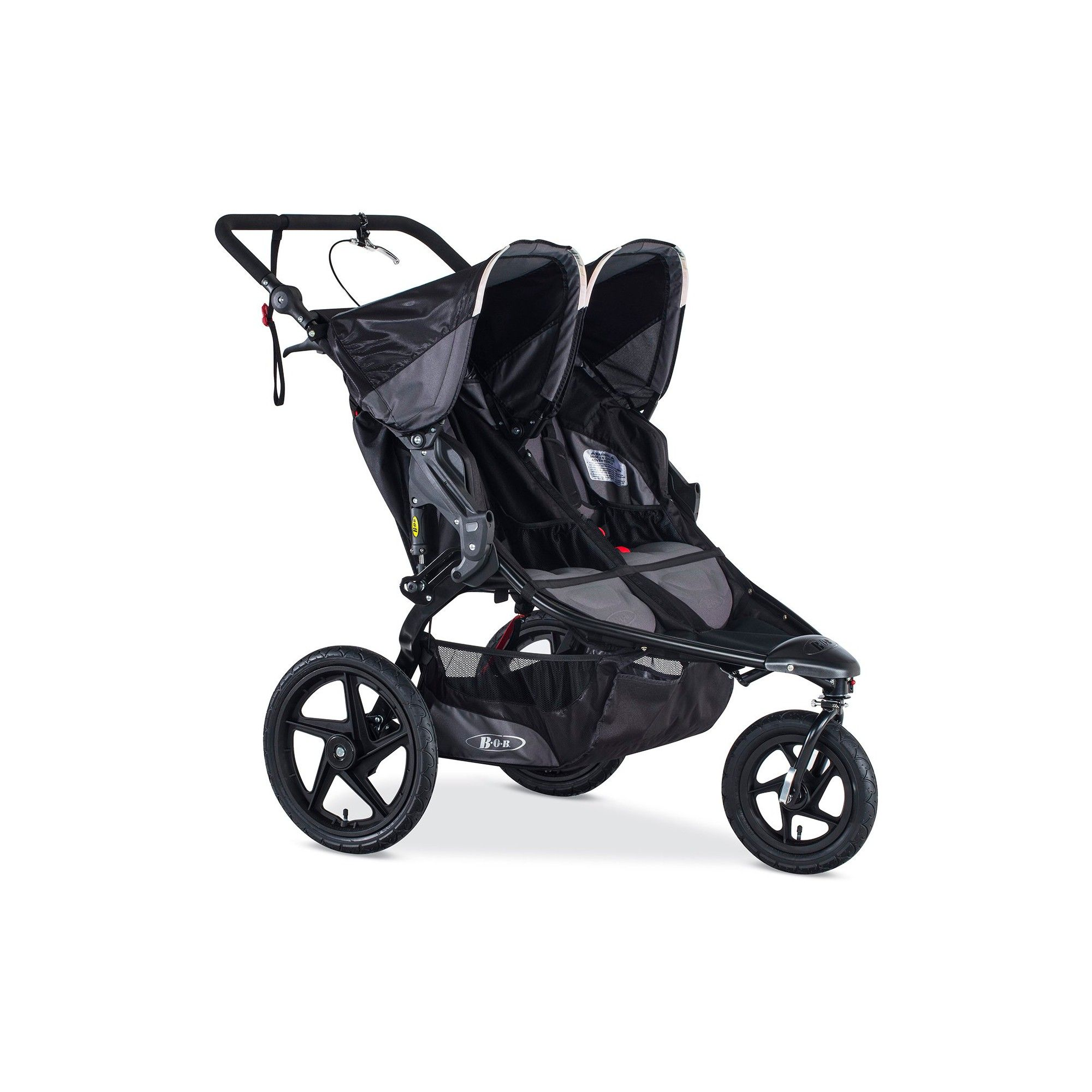 BOB Revolution PRO Duallie Jogging Stroller Black Best