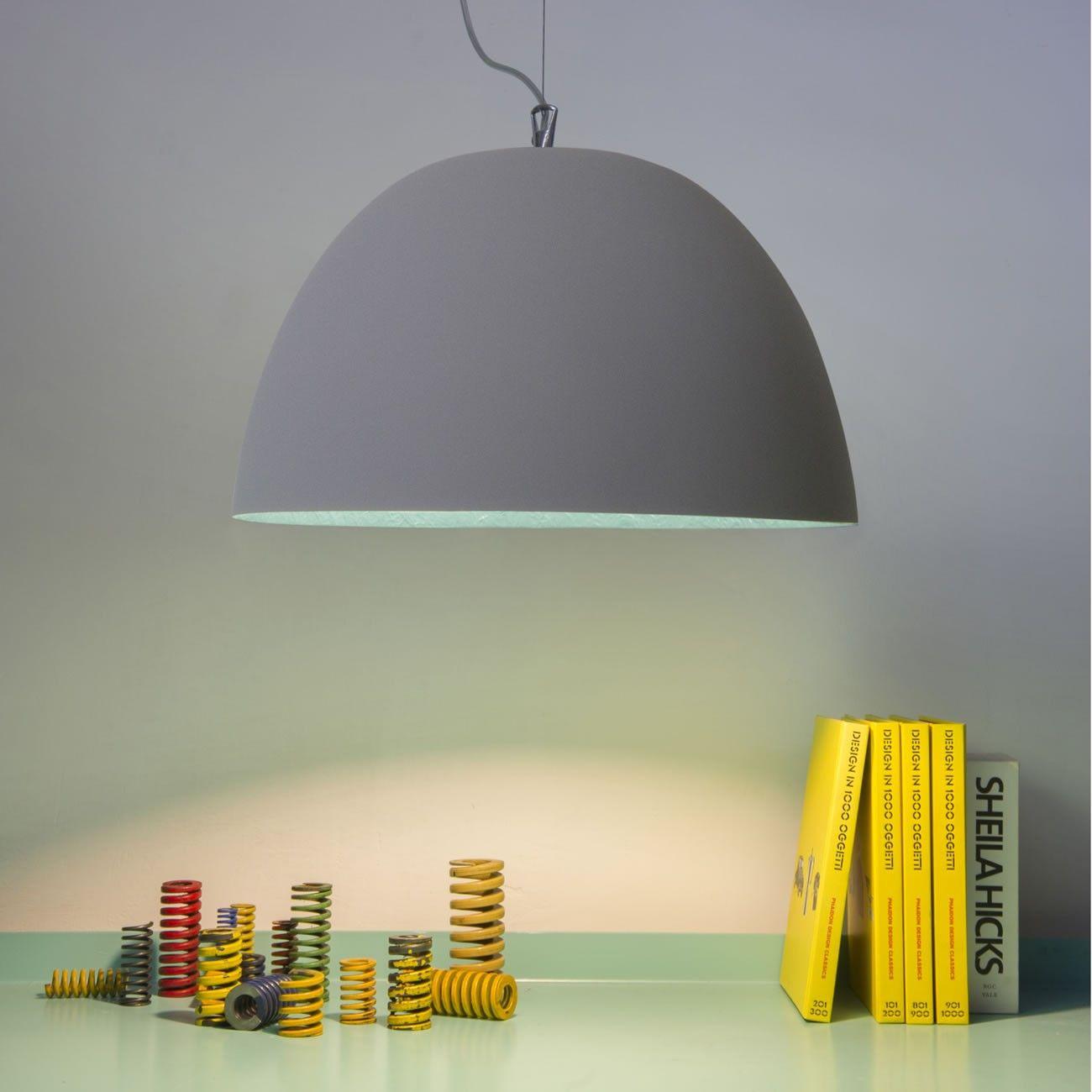 Lampada a sospensione h2o cemento in es artdesign in for Vendita arredamento design online