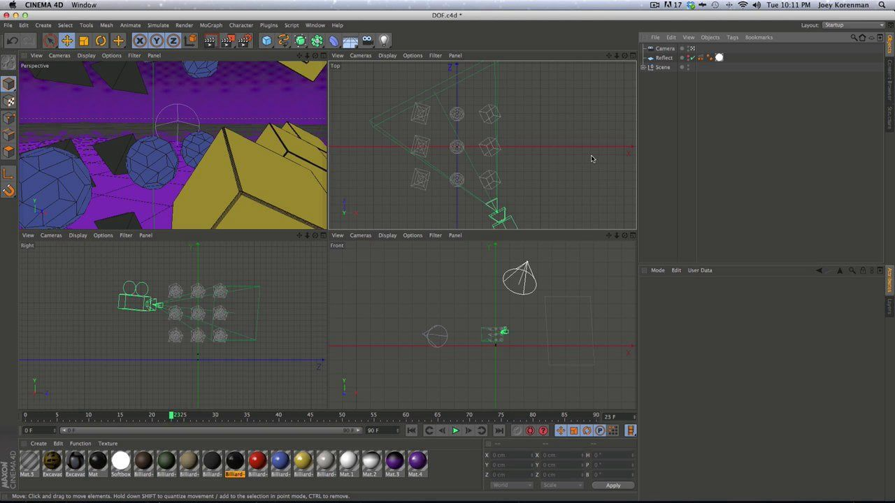 Depth of Field in Cinema 4D, After Effects, and Nuke