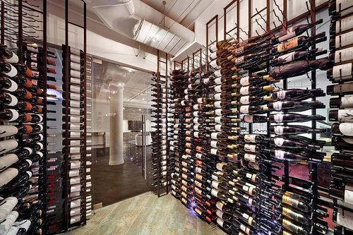 Huge Wine Cellar In An Apartment In New York I Wish I Had This