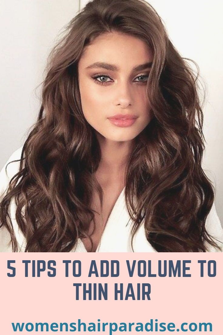 Tips To Add Volume To Thin Hair Natural Hair To Hair Roots With Flat Iron Overnight Ideas Tutorials Thin Hair Styles For Women Roots Hair Long Hair Volume
