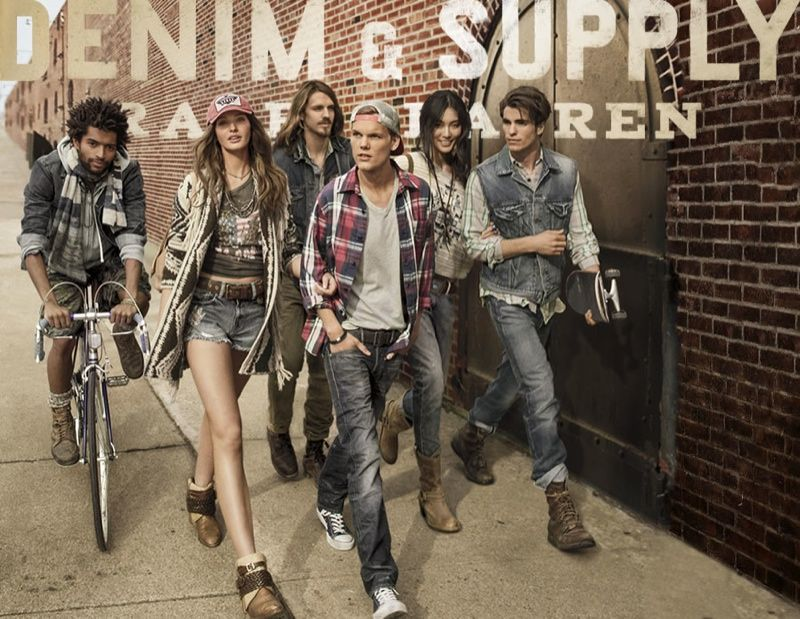 ralph lauren denim and supply 0001 Avicii, Thiago Santos, Julian Schratter & Tyler van Roden for Denim & Supply by Ralph Lauren Fall/Winter ...