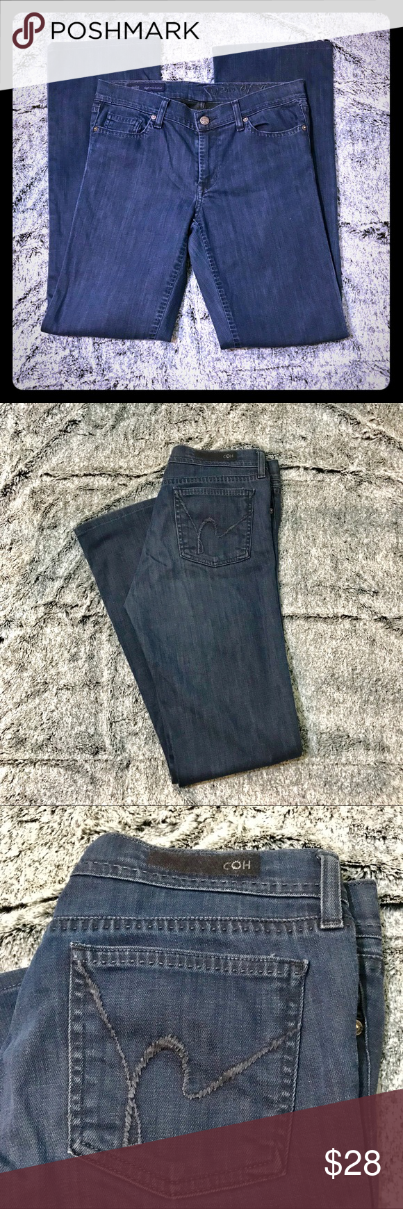 """f656714c8cd Citizens of Humanity amber stretch jeans High rise boot cut amber stretch  Citizens of Humanity jeans Great condition! Size 29 Inseam 31"""" Citizens Of  ..."""