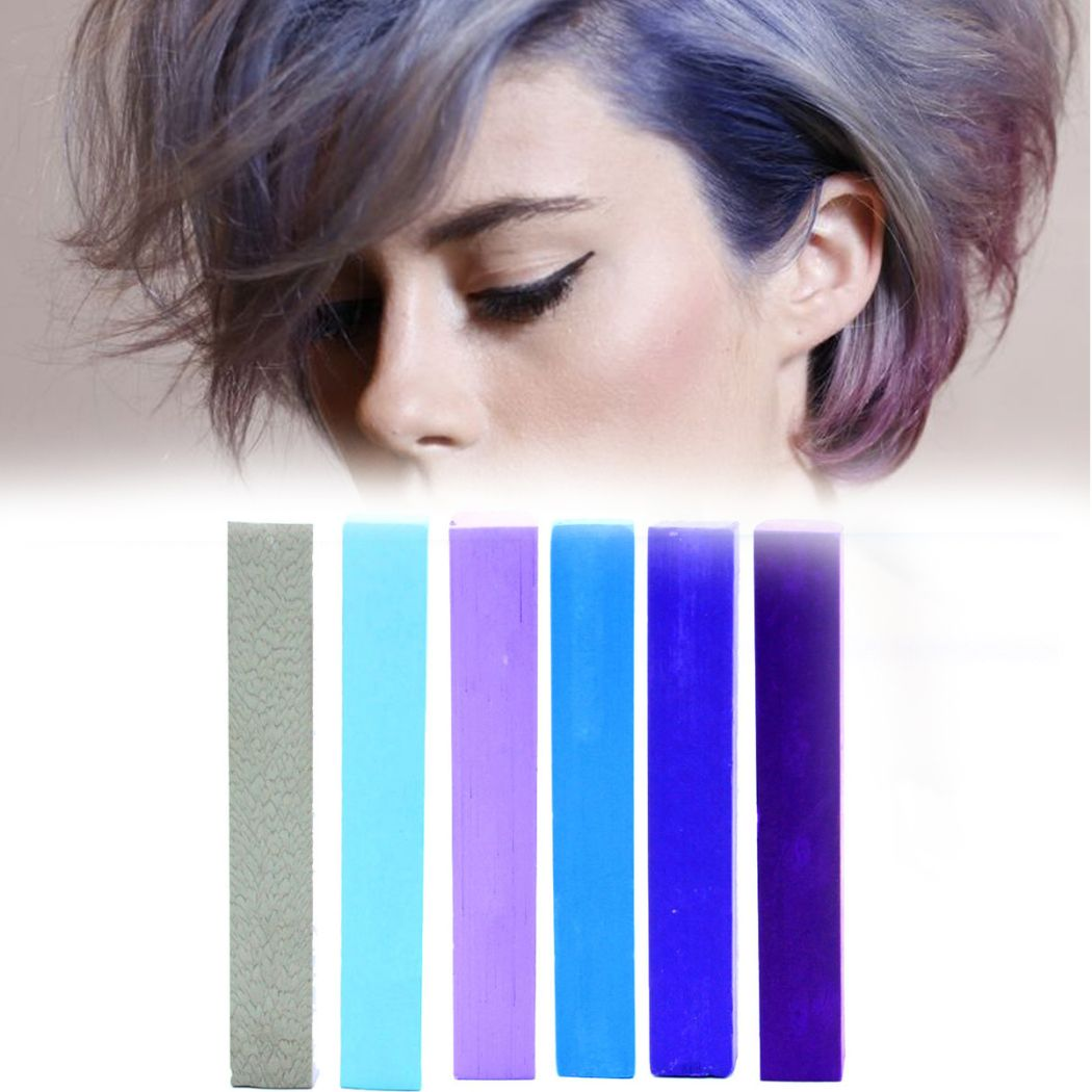 Best Lilac Ombre DIY Hair Dye | LAVENDER hair chalk set of 6 | Temporary Ombre Lilac HairChalk Kit