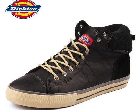 free shipping dickies 2013 new laceup shoes men's glossy