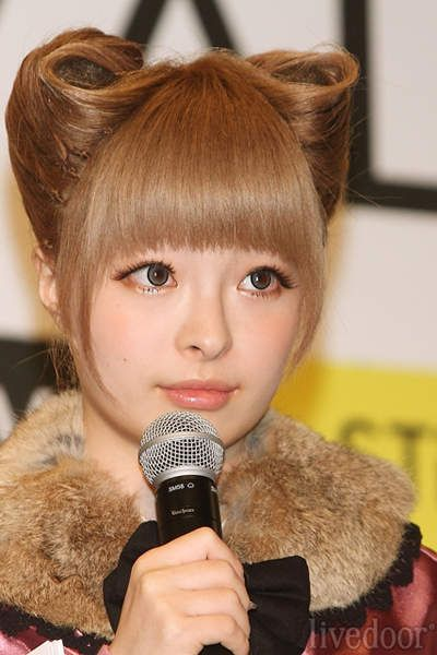 Cat Ear Hair Style Kyary Pamyu Pamyu Harajuku Hair Hair Styles Kawaii Hairstyles