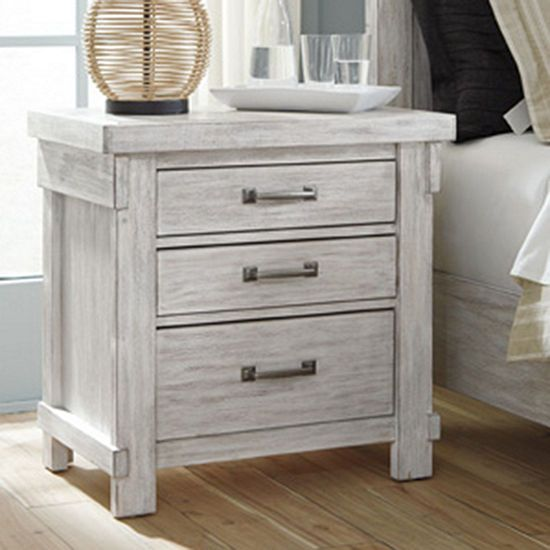Best Signature Design By Ashley® Brashland 3 Drawer Night Stand 400 x 300