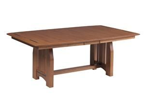 amish vineyard mission trestle dining room table | amish pie, Esstisch ideennn