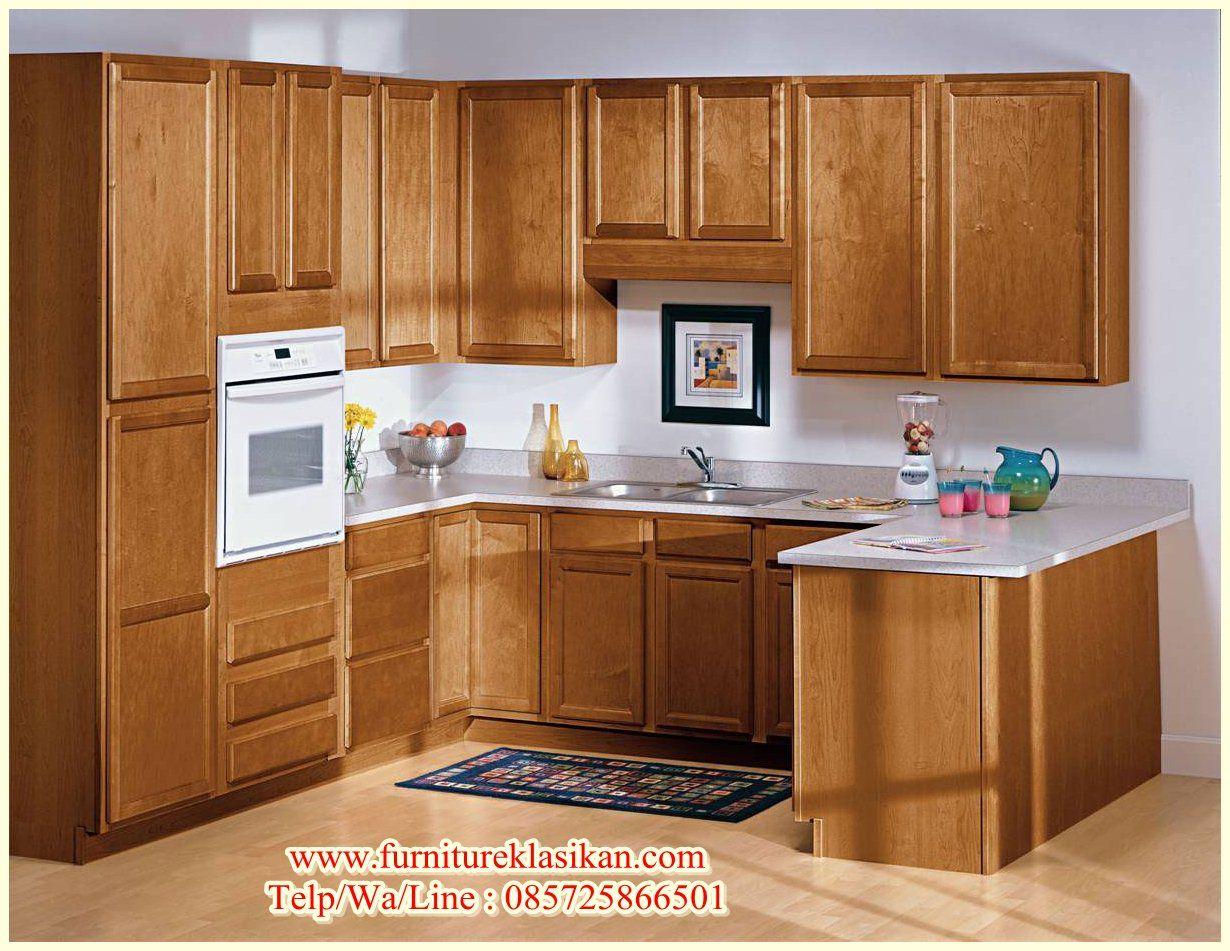 Desain Kitchen Set Jati Minimalis, Deskripsi Produk